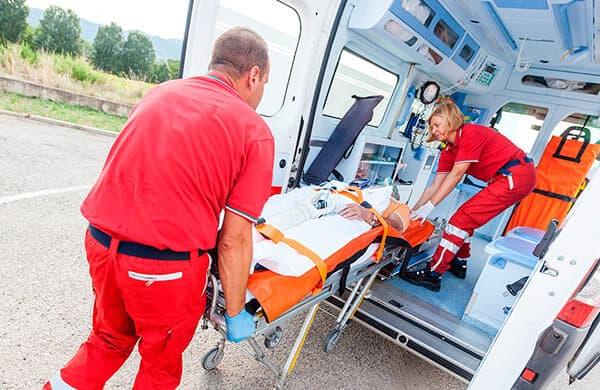 Услуга медицинской транспортировки